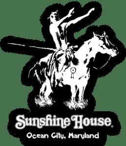 Sunshine House Indian Black Wave Sticker