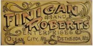Finigan & Roberts Board Sticker