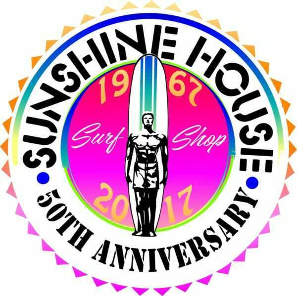 Sunshine House 50TH Anniversary Decal