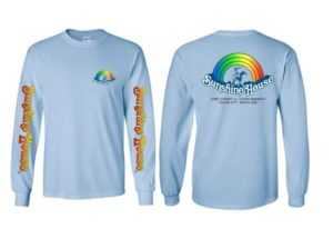 Rainbow Light Blue T-Shirt