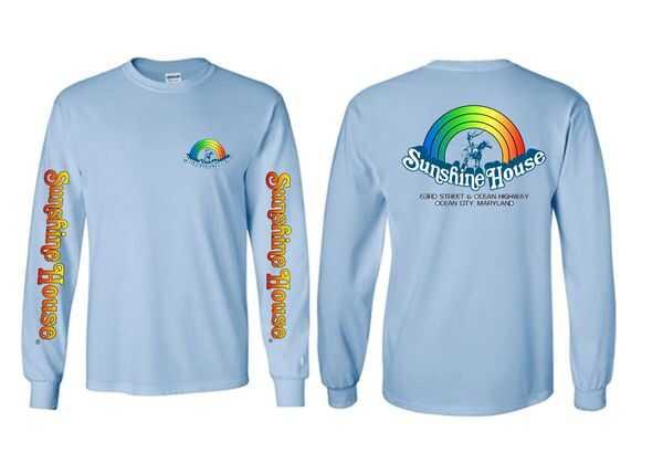 Rainbow Light Blue T-Shirt