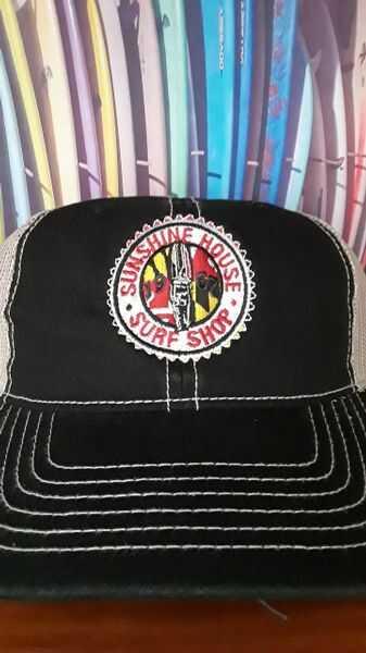 Surf Trucker Black Hat