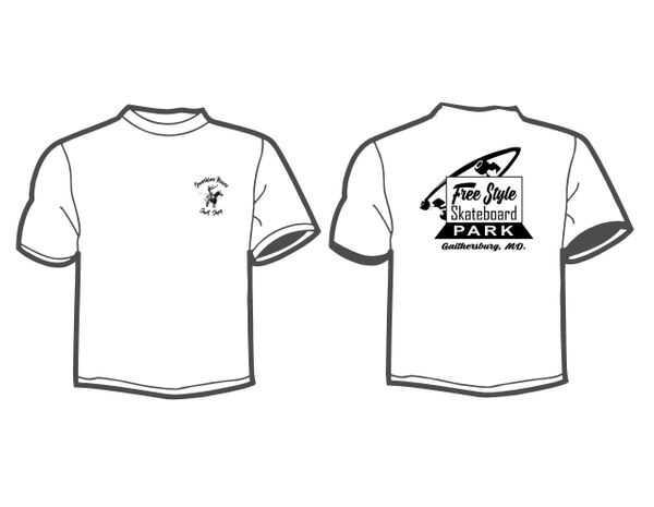 Free Style SS White T-shirt